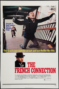 "The French Connection (20th Century Fox, 1971). One Sheet (27"" X 41""). Action"