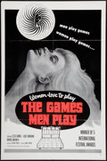 "Movie Posters:Sexploitation, The Games Men Play (Joseph Brenner Associates, 1964). One Sheet(27"" X 41""). Sexploitation.. ..."
