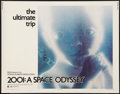 "Movie Posters:Science Fiction, 2001: A Space Odyssey (MGM, 1970). Half Sheet (22"" X 28"") Style B. Science Fiction.. ..."