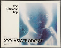 "2001: A Space Odyssey (MGM, 1970). Half Sheet (22"" X 28"") Style B. Science Fiction"