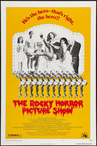 """The Rocky Horror Picture Show (20th Century Fox, 1975). One Sheet (27"""" X 41"""") Style B. Rock and Roll"""