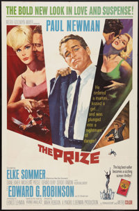 "The Prize (MGM, 1963). One Sheet (27"" X 41""). Thriller"