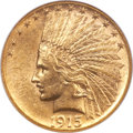 Indian Eagles, 1915-S $10 MS61 NGC....