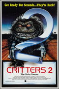 """Movie Posters:Horror, Critters 2 (New Line, 1988). One Sheet (27"""" X 41"""") Flat Folded. Horror.. ..."""