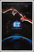 """Movie Posters:Science Fiction, E.T. The Extra-Terrestrial (Universal, 1982). One Sheet (27"""" X 41"""") Flat Folded. Science Fiction.. ..."""
