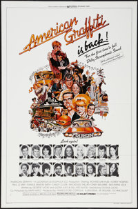 "American Graffiti & Other Lot (Universal, R-1978). One Sheets (2) (27"" X 41"") Style A Flat Folded. Com..."