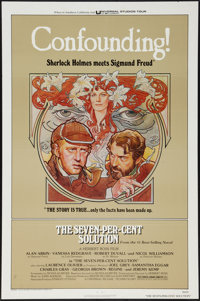 "The Seven-Per-Cent Solution (Universal, 1976). One Sheet (27"" X 41"") Flat Folded. Mystery"