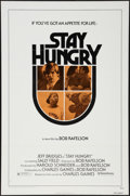 "Movie Posters:Comedy, Stay Hungry (United Artists, 1976). One Sheet (27"" X 41"") Flat Folded. Comedy.. ..."