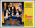 """Movie Posters:Comedy, Diner (MGM, 1982). Half Sheet (22"""" X 28""""). Comedy.. ..."""