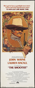 "Movie Posters:Western, The Shootist (Paramount, 1976). Insert (14"" X 36""). Western.. ..."