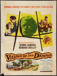 "Village of the Damned (MGM, 1960). Poster (30"" X 40""). Science Fiction"