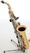 Musical Instruments:Horns & Wind Instruments, Conn American 24M Brass Alto Saxophone, Serial # 003871....