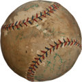 Autographs:Baseballs, 1924 New York Yankees Team Signed Baseball with Gehrig....