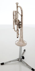 Musical Instruments:Horns & Wind Instruments, 1967 F.A. Reynolds Silver Cornet, Serial # 238542....