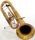 Musical Instruments:Horns & Wind Instruments, 1950s H.N. White King Brass Baritone, Serial # 357538....