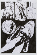 Original Comic Art:Panel Pages, Ed Benes Birds of Prey #67 Page 18 Original Art (DC, 2004)....