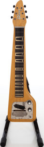 Musical Instruments:Lap Steel Guitars, 1960s Gibson Skylark Korina Lap Steel Guitar, Serial # 67821.. ...