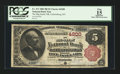 National Bank Notes:Kentucky, Catlettsburg, KY - $5 1882 Brown Back Fr. 471 The Big Sandy NB Ch.# 4200. ...