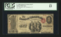 National Bank Notes:Connecticut, Thompson, CT - $1 Original Fr. 380 The Thompson NB Ch. # 1477. ...