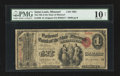 National Bank Notes:Missouri, Saint Louis, MO - $1 Original Fr. 380 The NB of the State ofMissouri Ch. # 1665. ...
