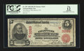 National Bank Notes:Colorado, Denver, CO - $5 1902 Red Seal Fr. 587 The Denver NB Ch. # (W)3269....