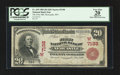 Newcastle, WY - $20 1902 Red Seal Fr. 639 The First NB Ch. # (W)7198