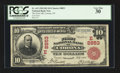 National Bank Notes:New York, Corona, NY - $10 1902 Red Seal Fr. 615 The First NB Ch. # (E)8853....