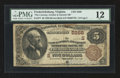 National Bank Notes:Virginia, Fredericksburg, VA - $5 1882 Brown Back Fr. 477 The Conway, Gordon& Garnett NB Ch. # (S)5268. ...