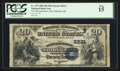 National Bank Notes:Maine, Oakland, ME - $20 1882 Date Back Fr. 552 The Messalonskee NB Ch. # (N)2231. ...
