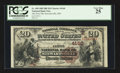 National Bank Notes:Missouri, Stewartsville, MO - $20 1882 Brown Back Fr. 498 The First NB Ch. #(M)4160. ...
