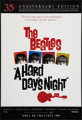 "Movie Posters:Rock and Roll, A Hard Day's Night (Miramax, R-1999). One Sheet (27"" X 40"") 35thAnniversary Edition Advance. Rock and Roll.. ..."