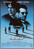 "Movie Posters:Crime, Heat (Warner Brothers, 1995). One Sheet (27.5"" X 39.5""). Crime....."