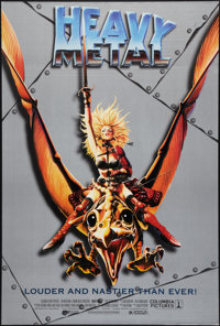 "Heavy Metal (Columbia, R-1996). One Sheet (27"" X 39.5""). Animation"