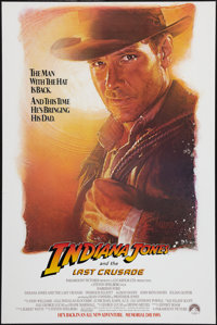 "Indiana Jones and the Last Crusade (Paramount, 1989). One Sheet (27"" X 41"") Advance. Action"