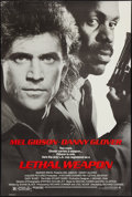 "Movie Posters:Action, Lethal Weapon (Warner Brothers, 1987). One Sheet (27"" X 40.25""). Action.. ..."