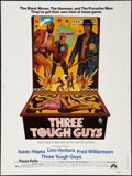"Movie Posters:Blaxploitation, Three Tough Guys (Paramount, 1974). Poster (30"" X 40""). Blaxploitation.. ..."