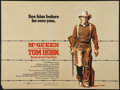 "Movie Posters:Western, Tom Horn (Warner Brothers, 1980). British Quad (30"" X 40""). Western.. ..."