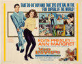 Movie/TV Memorabilia:Posters, Elvis Presley Viva Las Vegas Movie Poster (MGM, 1964)....