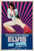 Movie/TV Memorabilia:Posters, Elvis Presley Elvis On Tour Movie Poster Group (MGM, 1972).... (Total: 2 Items)
