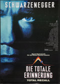 """Movie Posters:Science Fiction, Total Recall (Scotia, 1990). German A0 (33"""" X 46""""). Science Fiction.. ..."""