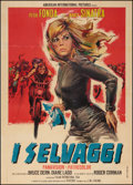 "Movie Posters:Exploitation, The Wild Angels (Italian International, 1967). Italian 2 - Foglio(39"" X 55""). Exploitation.. ..."