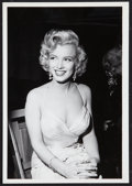 """Movie Posters:Miscellaneous, Marilyn Monroe by Phil Stern (20th Century Fox, 1950s). Portrait Photo (7"""" X 10""""). Miscellaneous.. ..."""