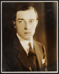 "Movie Posters:Comedy, Buster Keaton by Melbourne Spurr (1920s). Portrait Photo (8"" X 10""). Comedy.. ..."