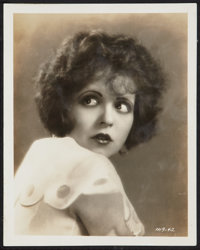 "Clara Bow in Red Hair (Paramount, 1928). Portrait Photo (8"" X 10""). Comedy"