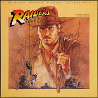 "Raiders of the Lost Ark (Paramount, 1981). Soundtrack Poster (36"" X 36""). Adventure"