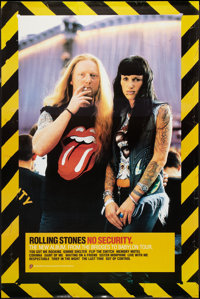 "Rolling Stones: No Security (Virgin Records, 1999). Promotional Poster (40"" X 60""). Rock and Roll"