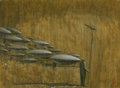 Latin American:Contemporary, JUAN MANUEL MENENDEZ (Cuban, 20th Century). Fragmento, 2008.Oil on canvas. 22-1/4 x 30 inches (56.5 x 76.2 cm). Initial...
