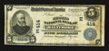 National Bank Notes:Maryland, Baltimore, MD - $5 1902 Date Back Fr. 590 The Second NB Ch. #(E)414. ...