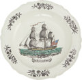 Military & Patriotic:Revolutionary War, Boston Frigate Liverpool Plate....