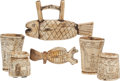 Pre-Columbian:Weapons/Misc., South America: Indigenous Culture Folk Art.... (Total: 5 Items)